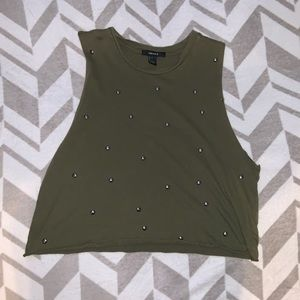 💛Forever 21 Muscle Tee Size Small